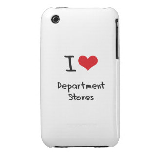 I Love Department Stores Case-Mate iPhone 3 Case