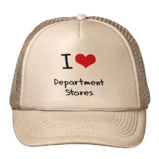I Love Department Stores Mesh Hats