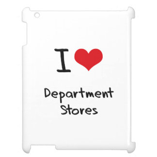 I Love Department Stores iPad Covers