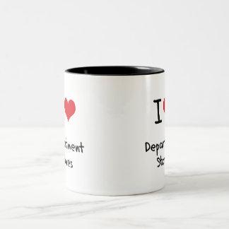 I Love Department Stores Mugs