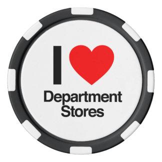 i love department stores poker chip set