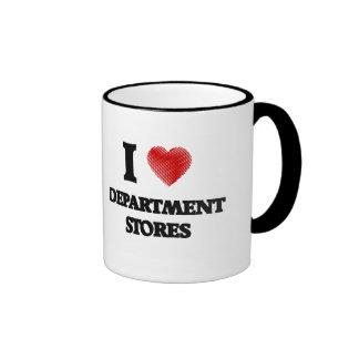 I love Department Stores Ringer Coffee Mug