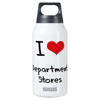 I Love Department Stores 10 Oz Insulated SIGG Thermos Water Bottle