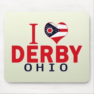 I love Derby, Ohio Mousepad