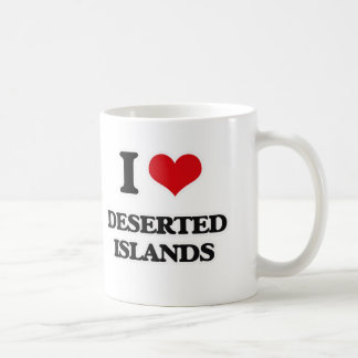 I Love Deserted Islands Coffee Mug
