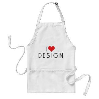 I Love Design Standard Apron