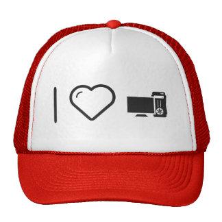 I Love Desktop Monitors Trucker Hat