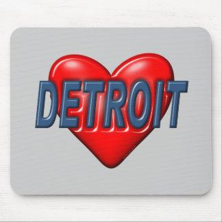 I Love Detroit Mousepad