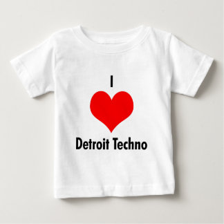I love detroit techno baby T-Shirt