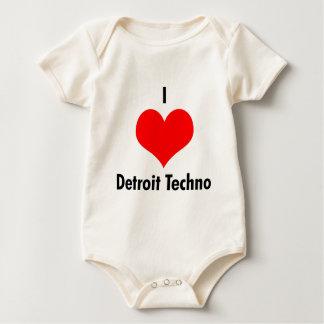 I love detroit techno Infant Creeper