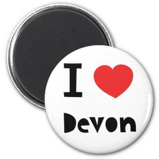I love Devon Magnets