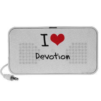I Love Devotion Travelling Speakers