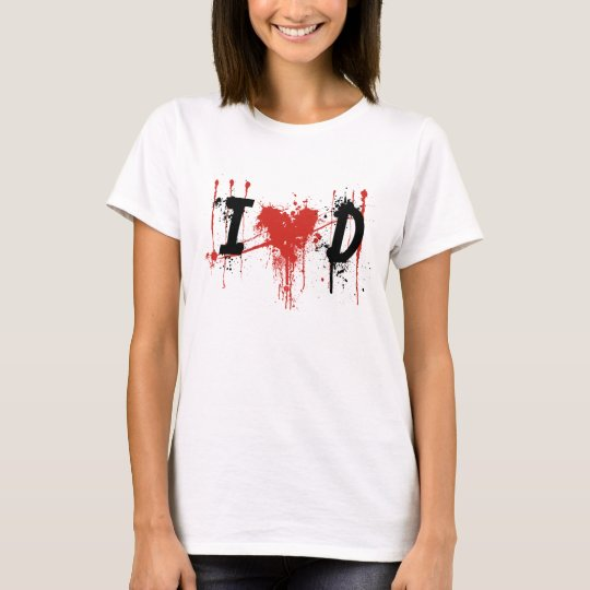 i Love Dexter Black text T-Shirt