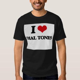 I love Dial Tones Shirts