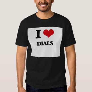 I love Dials T Shirt