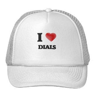 I love Dials Trucker Hat