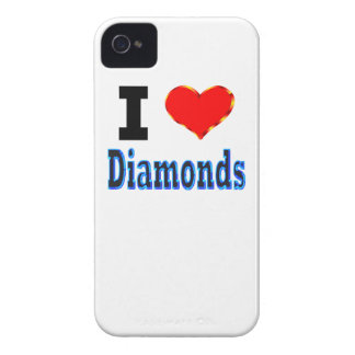 I Love Diamonds iPhone 4 Case-Mate Cases