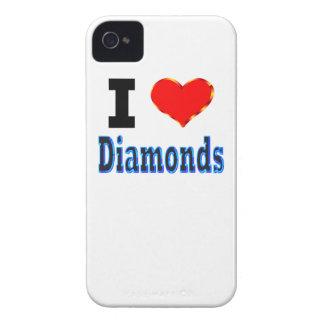 I Love Diamonds iPhone 4 Case-Mate Cases
