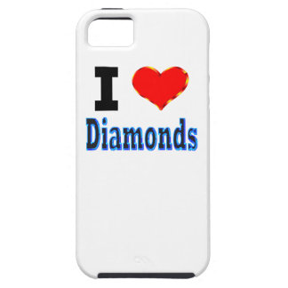 I Love Diamonds iPhone 5 Case