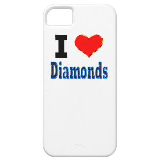I Love Diamonds iPhone 5 Cover