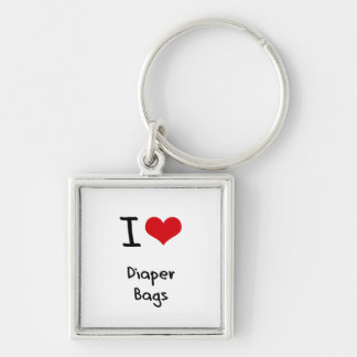 I Love Diaper Bags Key Chains