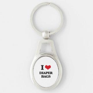 I love Diaper Bags Key Chain