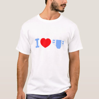 I love Diapers T-shirt