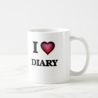 I love Diary Coffee Mug