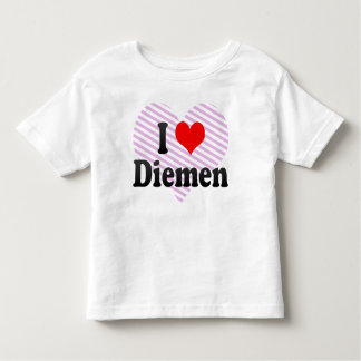 I Love Diemen, Netherlands Tshirts