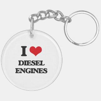 I love Diesel Engines Acrylic Key Chains