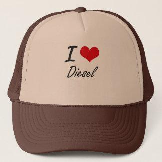 I love Diesel Trucker Hat
