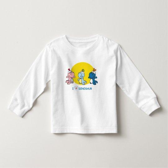 I Love Dino T-shirt for Kids