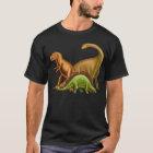 I Love Dinosaurs Adult Dark T-Shirt