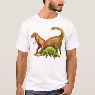 I Love Dinosaurs Adult T-Shirt