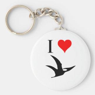 I Love Dinosaurs - Pterodactyl Keychain