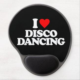 I LOVE DISCO DANCING GEL MOUSE PAD