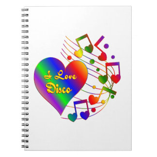 I Love Disco Notebooks