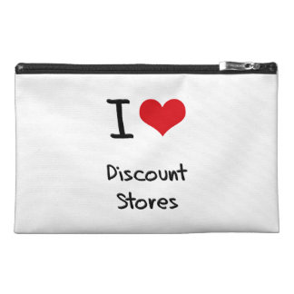 I Love Discount Stores Travel Accessory Bag