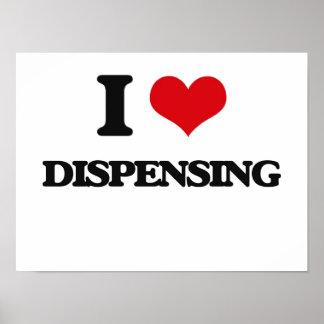 I love Dispensing Poster