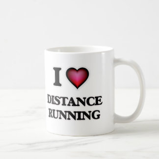 I love Distance Running Coffee Mug