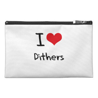 I Love Dithers Travel Accessory Bag