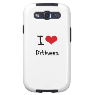 I Love Dithers Samsung Galaxy S3 Case