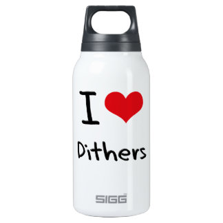 I Love Dithers SIGG Thermo 0.3L Insulated Bottle