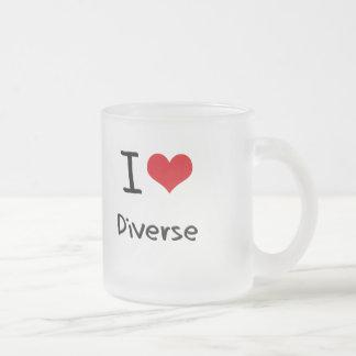 I Love Diverse Mug