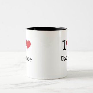 I Love Diverse Coffee Mug