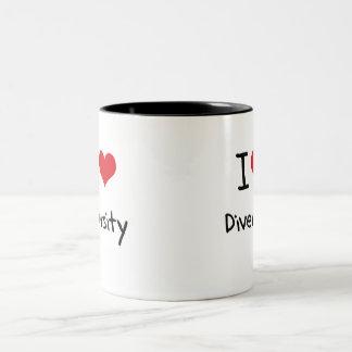I Love Diversity Coffee Mug