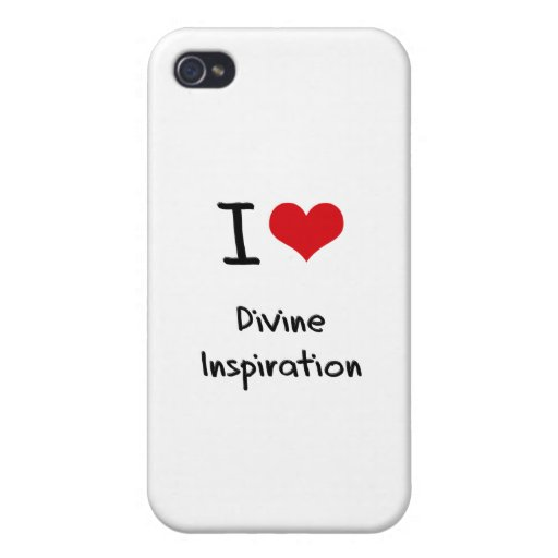I Love Divine Inspiration iPhone 4 Case
