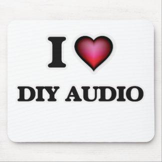 I Love Diy Audio Mouse Pad