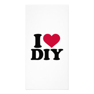 I love DIY Photo Card