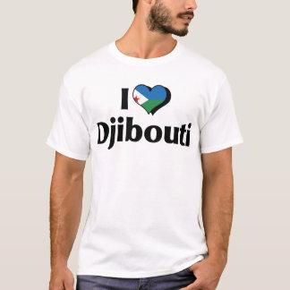 I Love Djibouti Flag T-Shirt